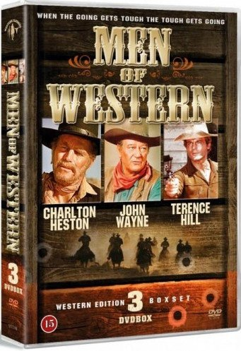Men Of Western - Vol.1 - DVD - Film