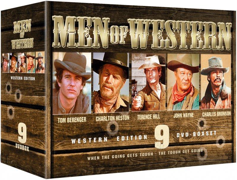 Image of   Men Of Western - DVD - Film