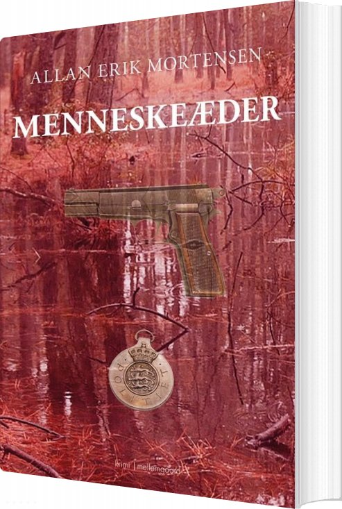 Billede af Menneskeæder - Allan Erik Mortensen - Bog