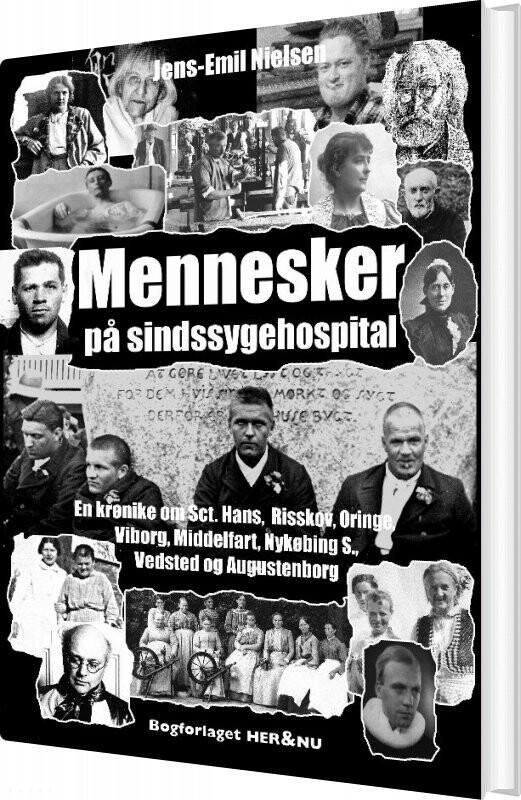 Billede af Mennesker På Sindssygehospital - Jens-emil Nielsen - Bog