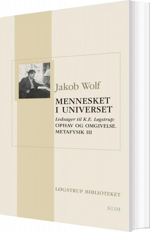 Image of   Mennesket I Universet - Jakob Wolf - Bog