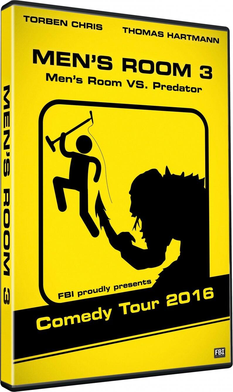 Image of   Mens Room 3 - Thomas Hartmann Og Torben Chris - DVD - Film