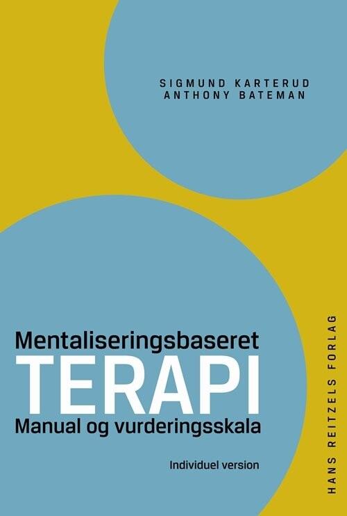 Image of   Mentaliseringsbaseret Terapi - Anthony Bateman - Bog
