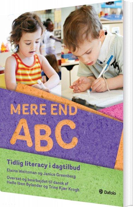 Image of   Mere End Abc - Janice Greenberg & Elaine Weitzman - Bog