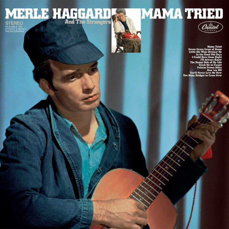 Image of   Merle Haggard - Mama Tried / Pride In What I Am [original Recording Remastered] - CD
