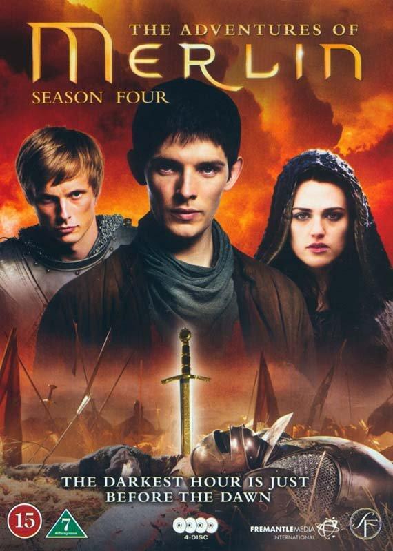 Billede af Merlin - Sæson 4 - DVD - Tv-serie