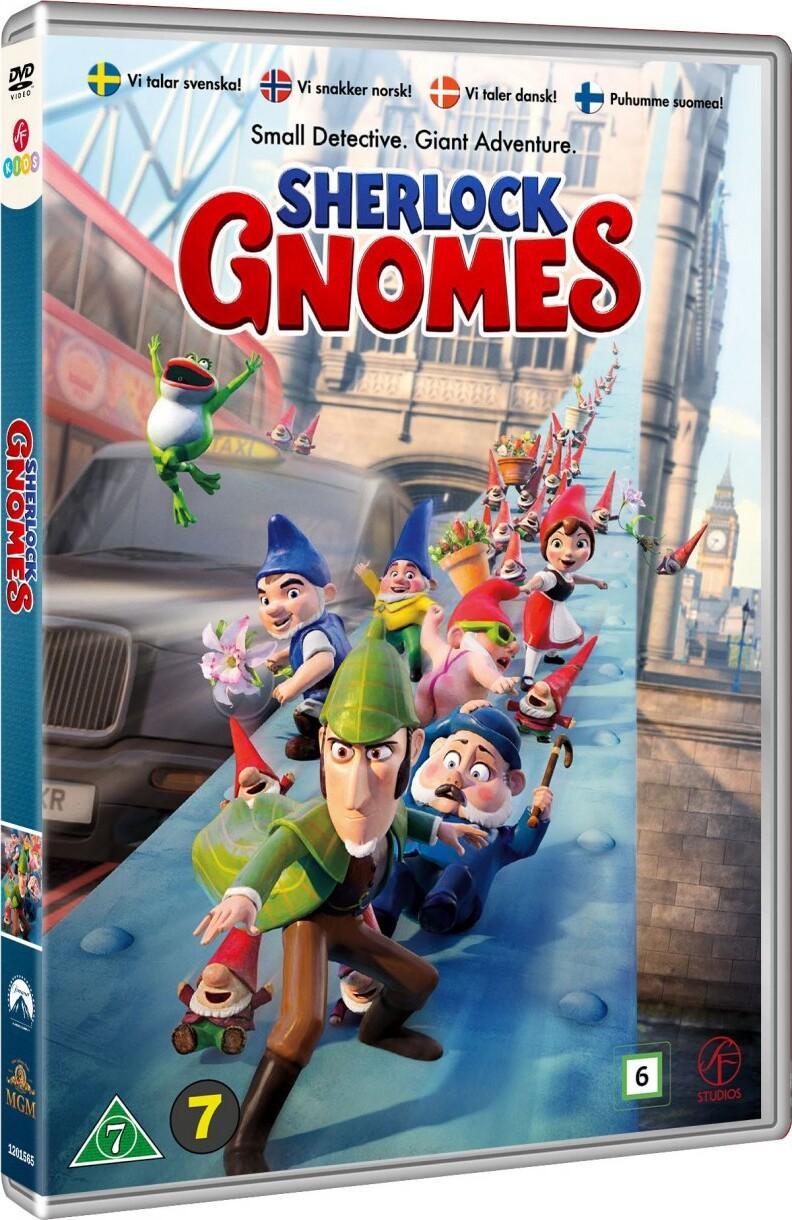 Billede af Mesterdetektiven Sherlock Gnomes - DVD - Film