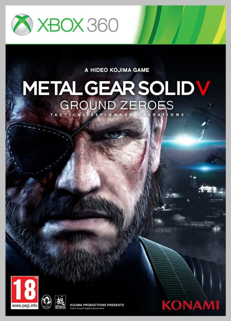 Image of   Metal Gear Solid: Ground Zeroes - Xbox 360