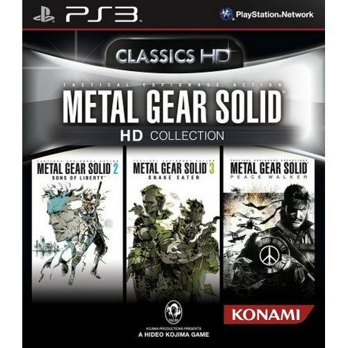 Metal Gear Solid Hd Collection (import) - PS3