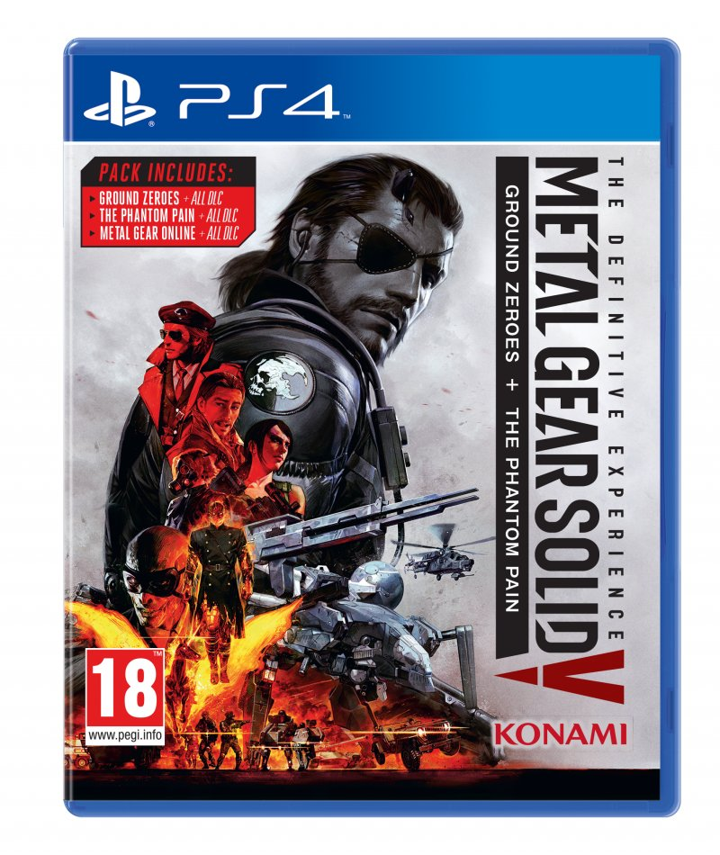 Image of   Metal Gear Solid V (5): The Definitive Experience - PS4