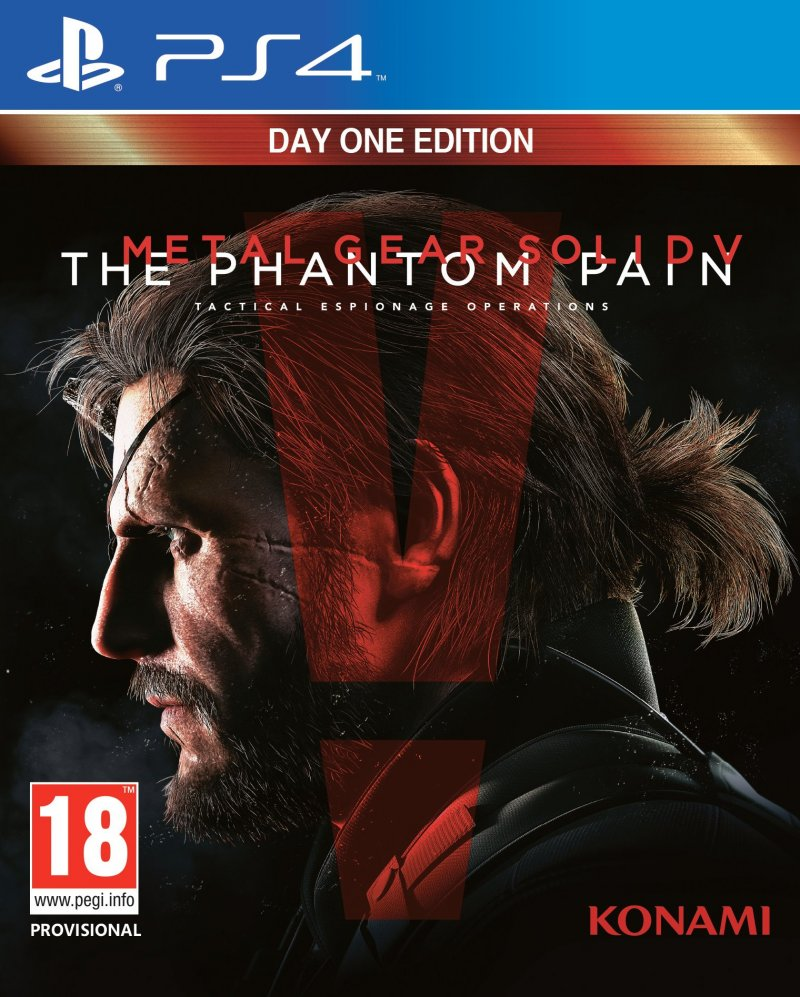 Image of   Metal Gear Solid 5 : The Phantom Pain - Day One Edition - PS4