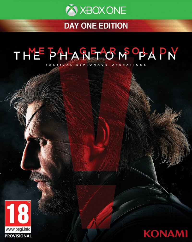 Image of   Metal Gear Solid V (5): The Phantom Pain (nordic) - Xbox One