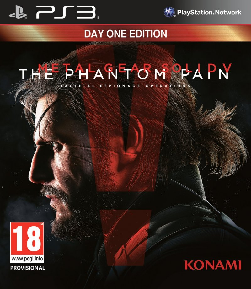 Image of   Metal Gear Solid V (5): The Phantom Pain - PS3