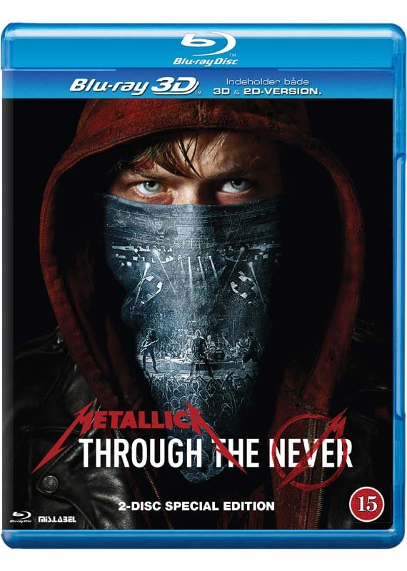 Image of   Metallica - Through The Never - Blu-Ray