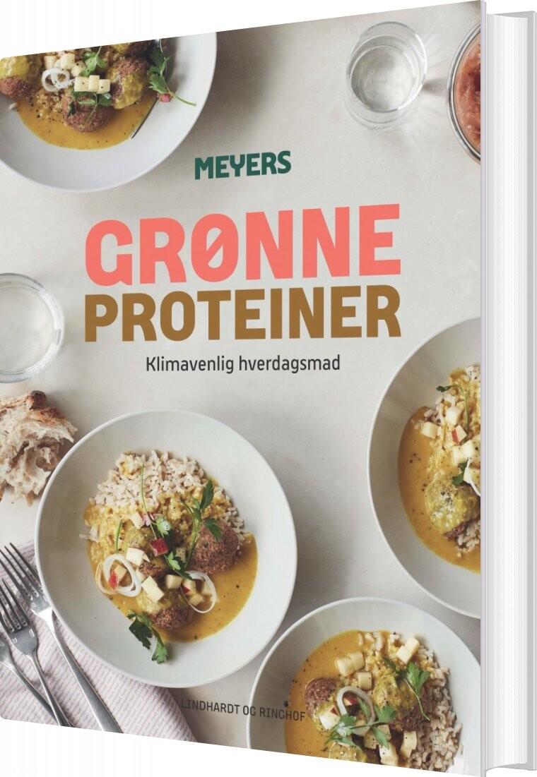 Meyers Grønne Proteiner - Meyers Madhus - Bog