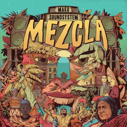 Image of   M.a.k.u. Soundsystem - Mezcla - CD