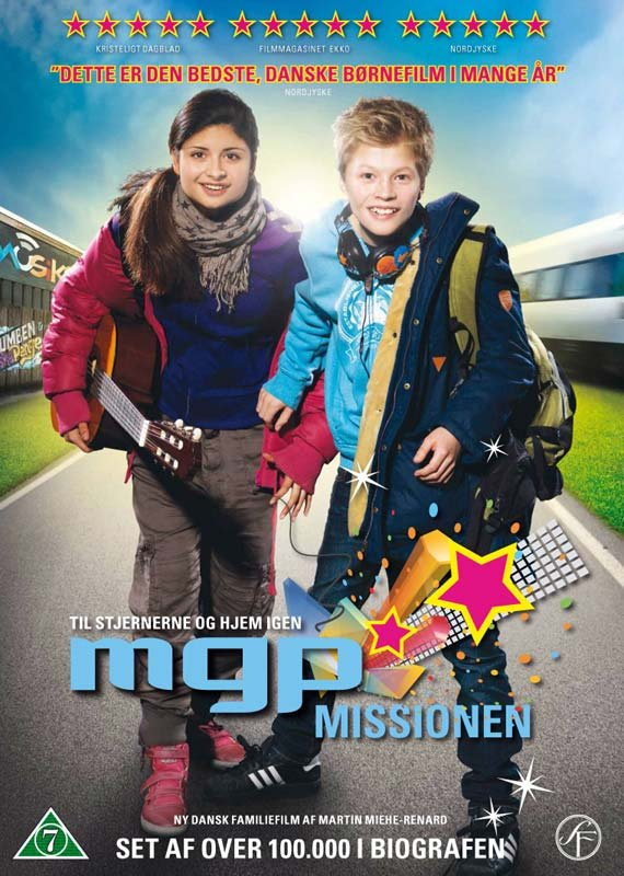 Image of   Mgp Missionen - DVD - Film