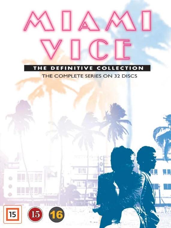 Image of   Miami Vice - Den Komplette Serie - DVD - Tv-serie