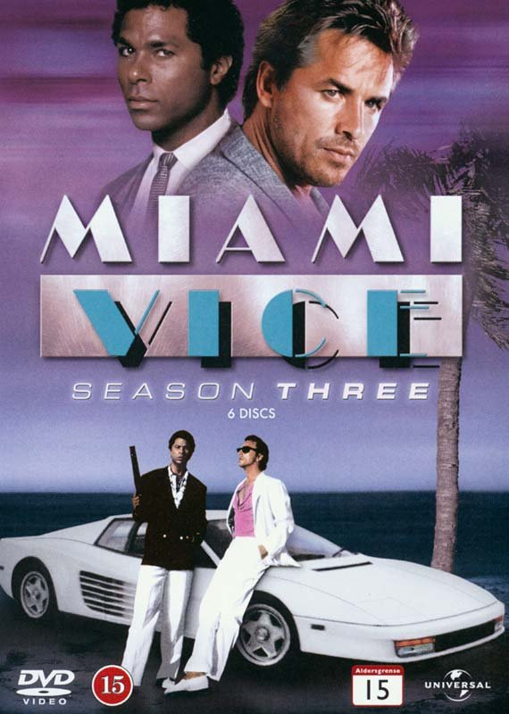 Image of   Miami Vice - Sæson 3 - DVD - Tv-serie