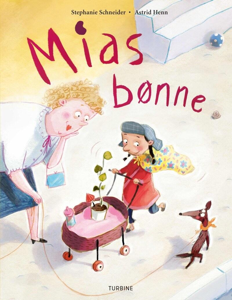 Image of   Mias Bønne - Stephanie Schneider - Bog