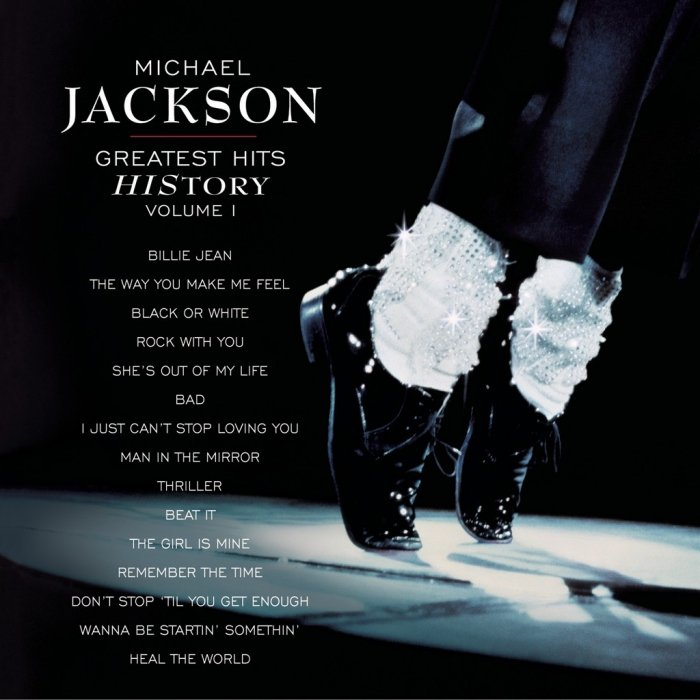 Image of   Michael Jackson - Greatest Hits - History Vol. 1 - CD