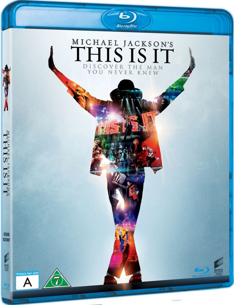 Image of   Michael Jackson - This Is It - Blu-Ray