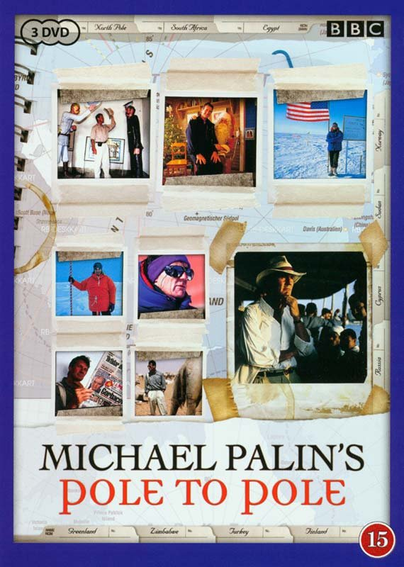 Image of   Michael Palins Pole To Pole - Bbc - DVD - Tv-serie