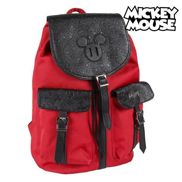 Mickey Mouse Taske – Børnerygsæk – Rød Sort