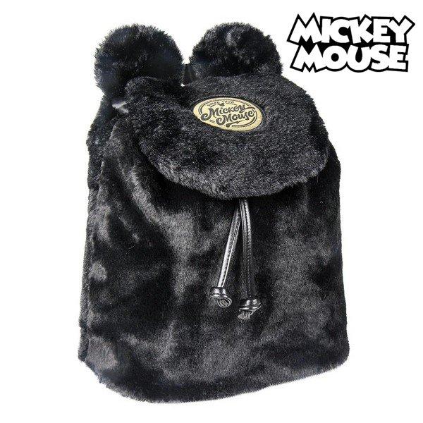 Mickey Mouse Taske Med Ører Og Forlomme Sort Gul Rød