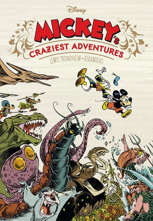 Image of   Mickeys Craziest Adventures - Lewis Trondheim - Tegneserie