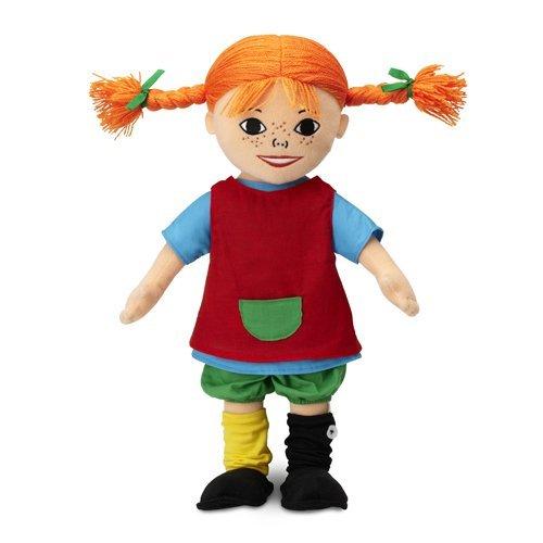 Pippi Langstrømpe Dukke - 40 Cm