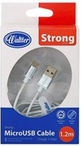 Image of   Micro Usb Kabel Til Usb C - 1.2 Meter - Hvid