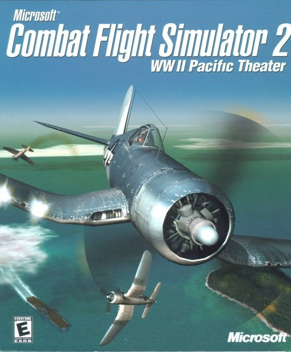Image of   Microsoft Combat Flight Simulator 2 - Dk - PC