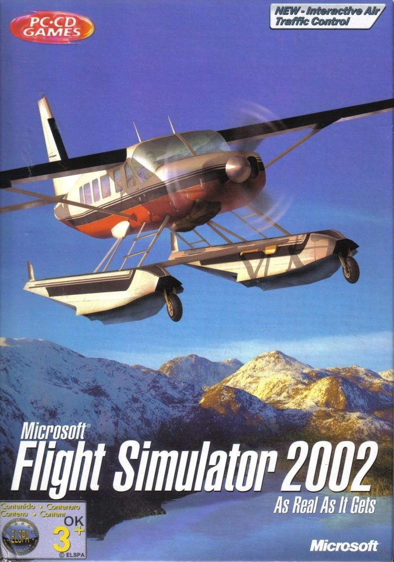 Image of   Microsoft Flight Simulator 2002 - Dk - PC