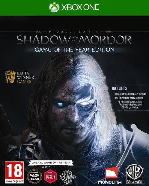 Image of   Middle-earth: Shadow Of Mordor - Game Of The Year Edition - Xbox One