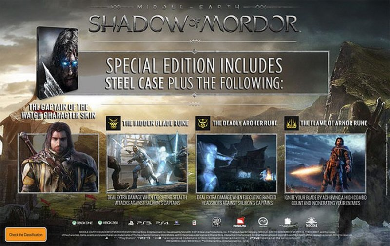 Image of   Middle-earth: Shadow Of Mordor - Special Edition /xbox One - Xbox One
