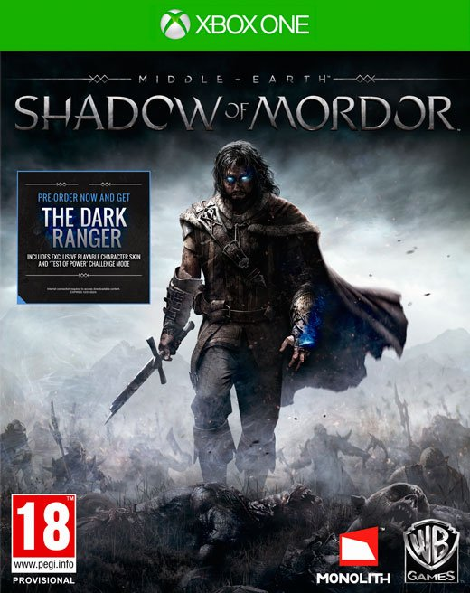 Image of   Middle-earth: Shadow Of Mordor - Xbox One