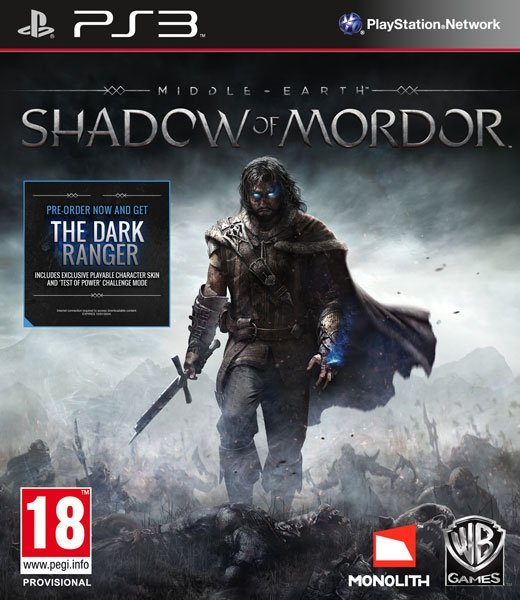 Image of   Middle-earth: Shadow Of Mordor - PS3