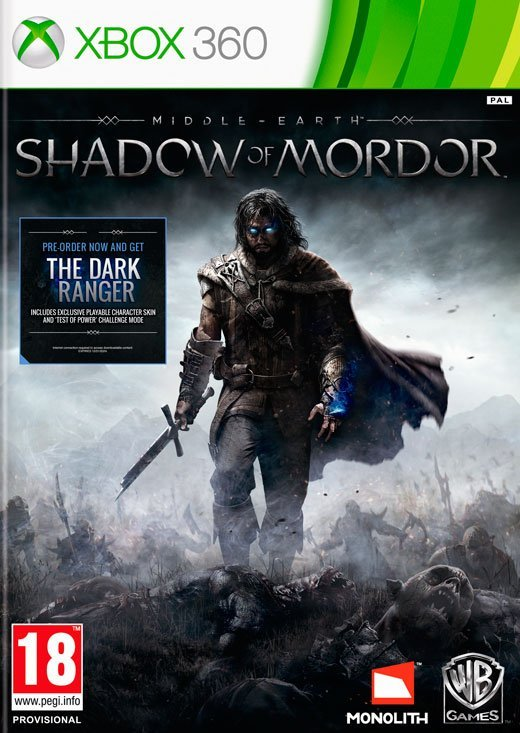 Image of   Middle-earth: Shadow Of Mordor - Xbox 360