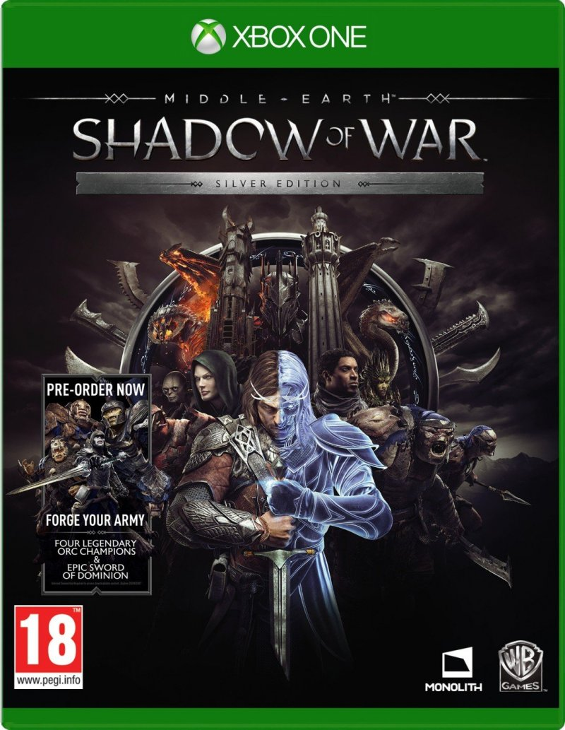 Image of   Middle-earth: Shadow Of War - Silver Edition - Xbox One