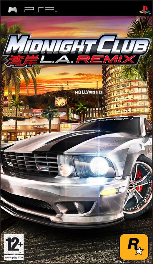Midnight Club La Remix - Psp