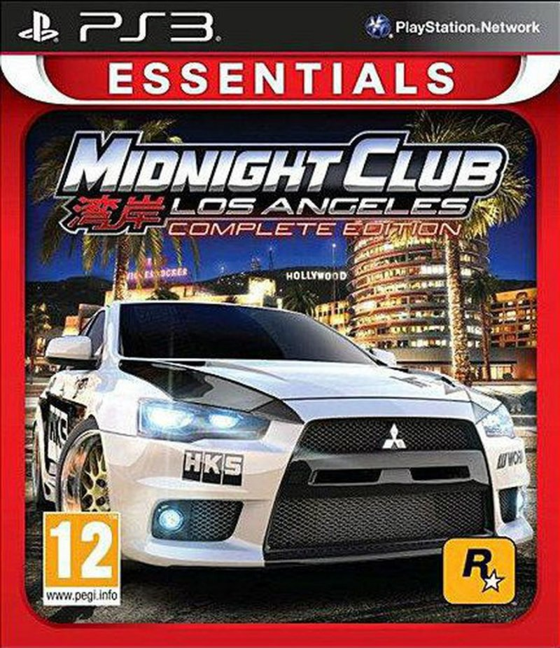 Midnight Club: Los Angeles Complete Edition (essentials) - PS3