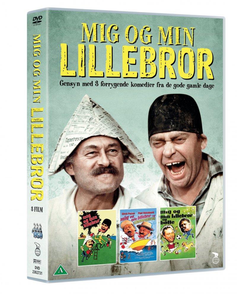 Billede af Mig Og Min Lillebror // Mig Og Min Lillebror Og Bølle // Mig Og Min Lillebror Og Storsmuglerne - DVD - Film