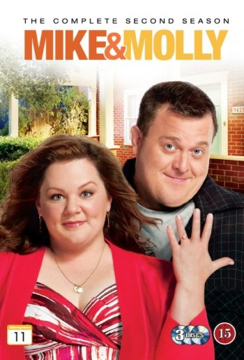 Image of   Mike And Molly - Sæson 2 - Blu-Ray - Tv-serie