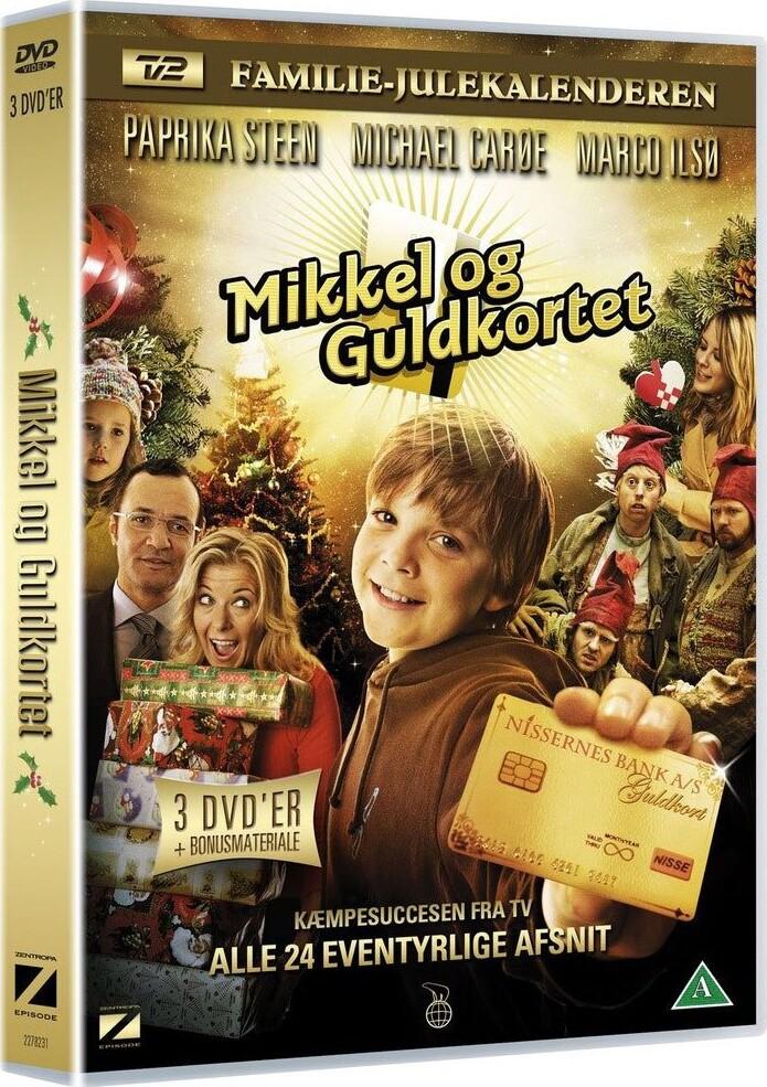 Mikkel Og Guldkortet - Tv2 Julekalender - DVD - Tv-serie