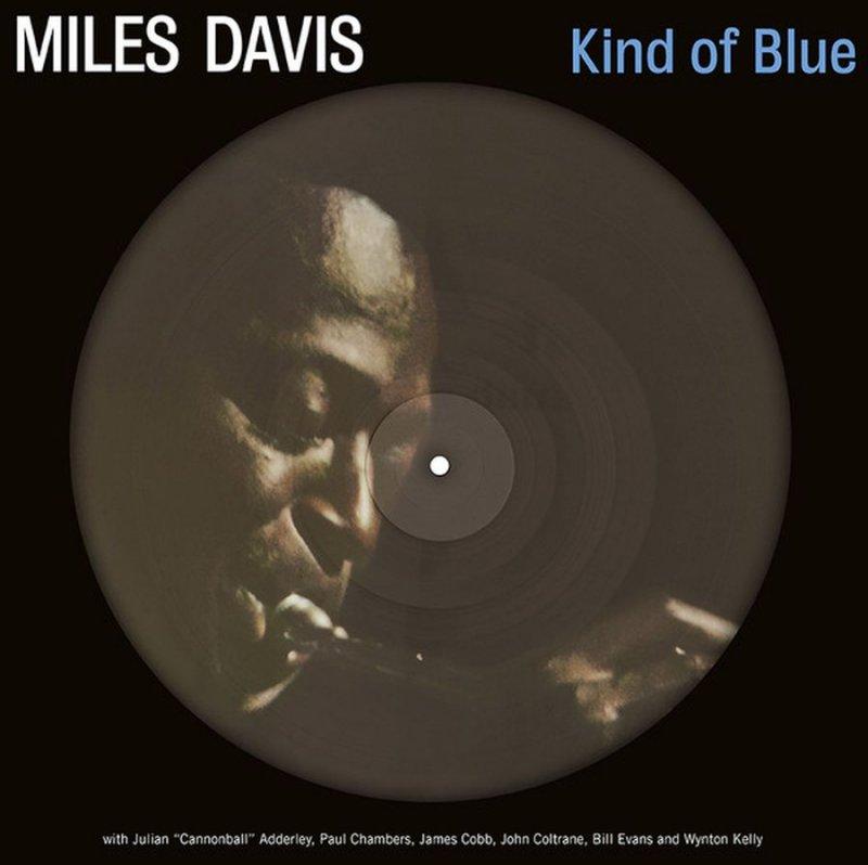 Image of   Miles Davis - Kind Of Blue - Picture Vinyl - Vinyl / LP