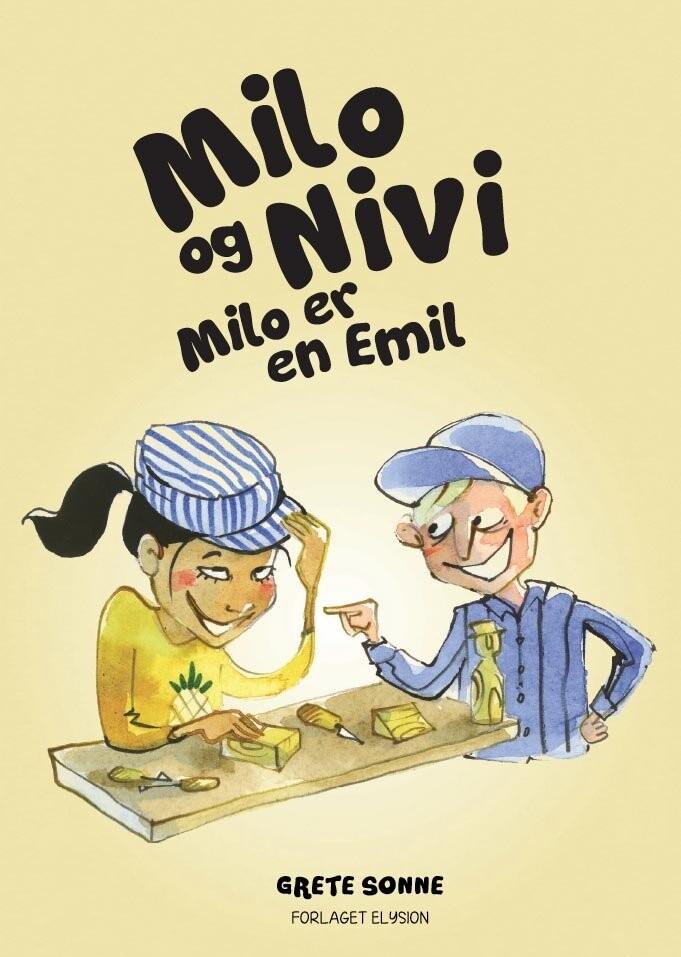 Image of   Milo Er En Emil - Grete Sonne - Bog