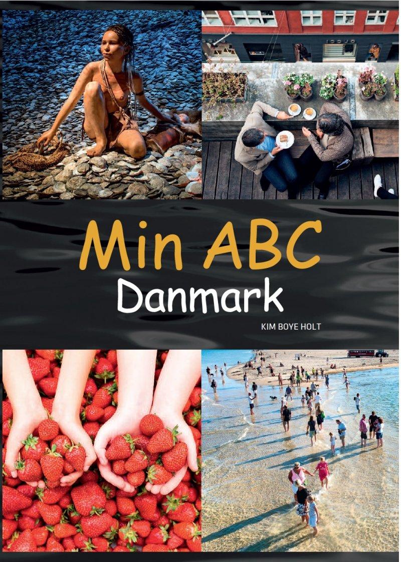 Image of   Min Abc - Danmark - Kim Boye Holt - Bog