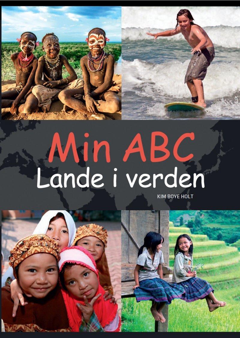 Image of   Min Abc - Lande I Verden - Kim Boye Holt - Bog