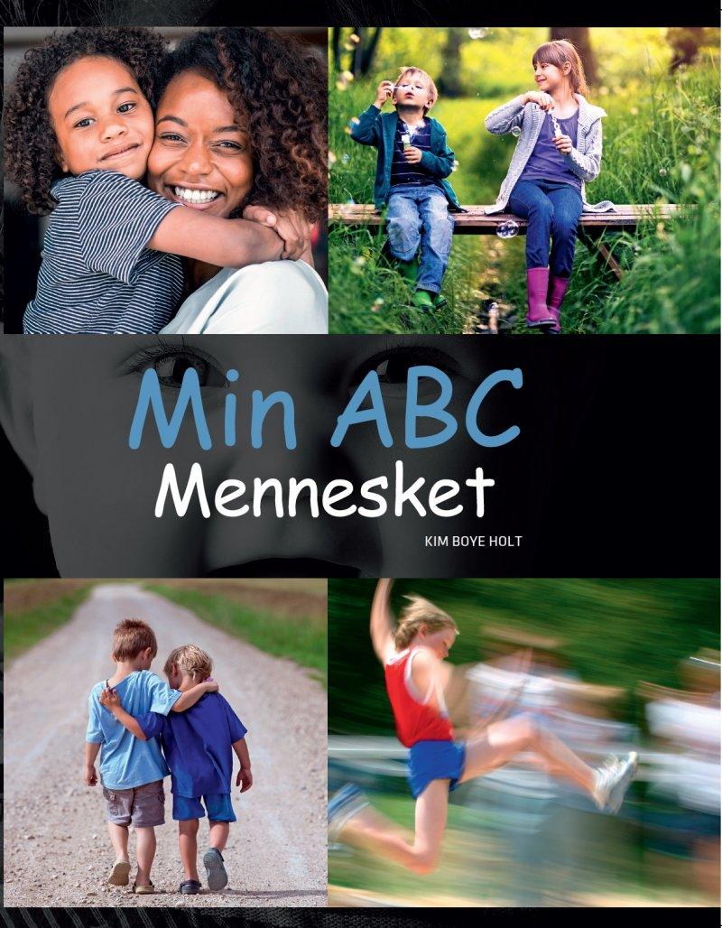 Image of   Min Abc - Mennesket - Kim Boye Holt - Bog